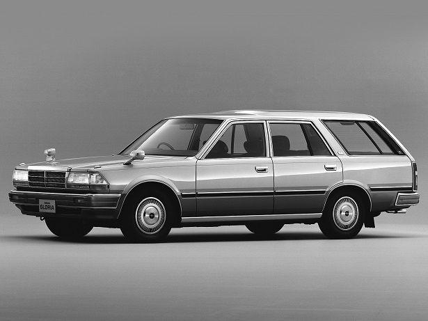 Y30W 見っけー! Nissan Gloria Wagon (1985 – 1999).