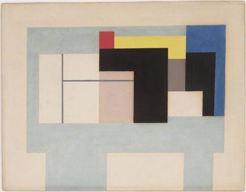 Ben Nicholson. Gouache 1938-42. 1938-42
