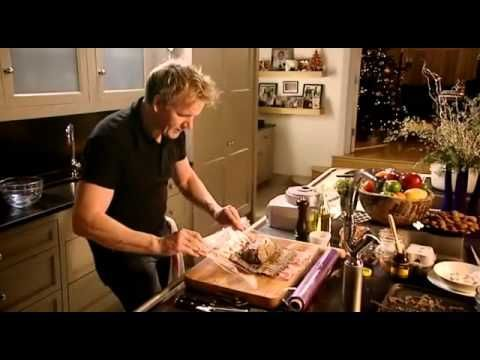 Beef Wellington by Gordon Ramsay (Just a note in case you make it - the 200 degrees he refers to is Celsius - that's about 400 F)