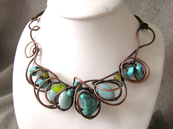 Wire work from Amanda Burton from WireMoon