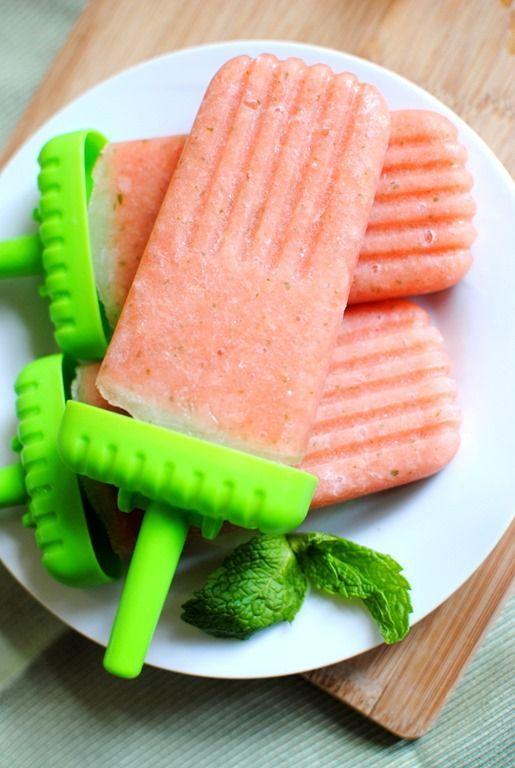 Easy Watermelon Pineapple Popsicles Recipe