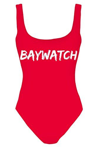 The Christmas Outfit Women's One Piece Body Swimsuit Bikini Beach Pool Suit One Size Fits UK S / M / L Baywatch >>> Read more @