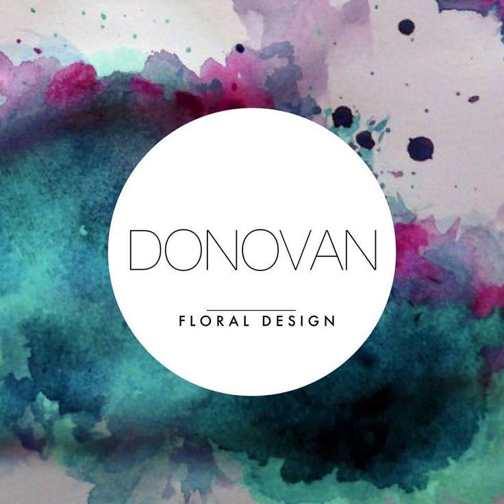 Donovan floral design logo
