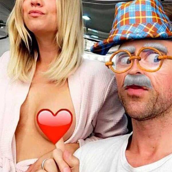 Actriz muestra seno por Snapchat y calienta la web -➜