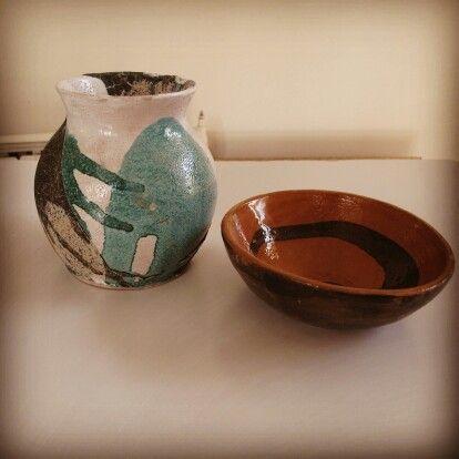 Pottery glaz,clay,handmade.