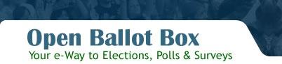 OpenballotBox - Opinion Poll Question