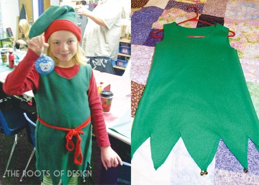 How to make an easy elf costume