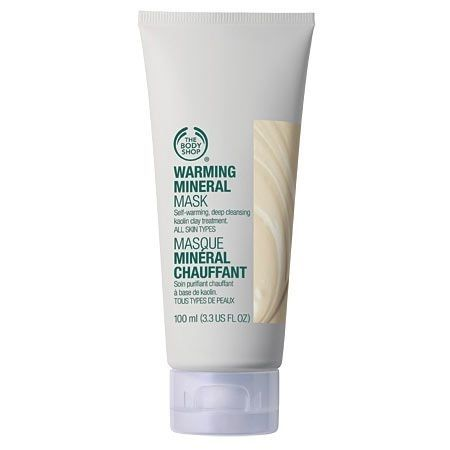 """Warming Mineral Mask, $17 from The Body Shop 