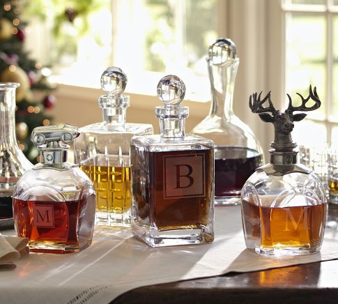 I probably need a stag head decanter