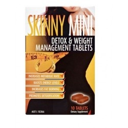 Get the Skinny Mini Weight Management Tablets Detox & Weight Management Tablets