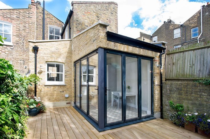 Rear Kitchen Extension And Side Infill Extension On A
