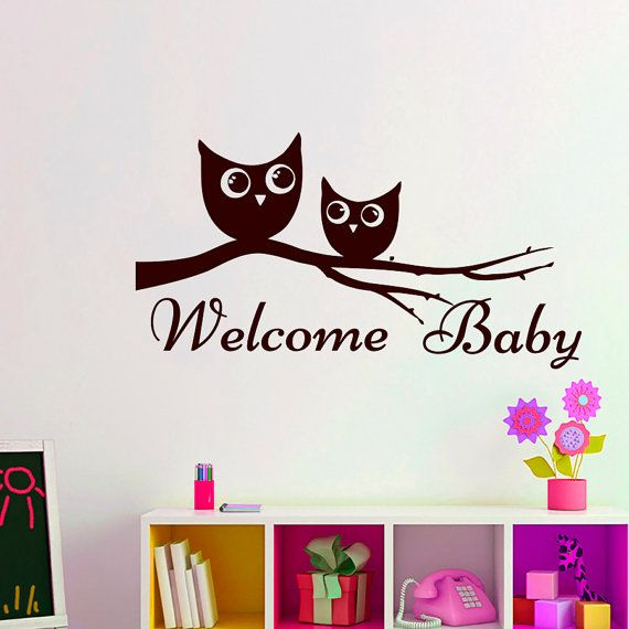 21 best images about welcome decal on pinterest vinyls for Welcome home decorations for baby