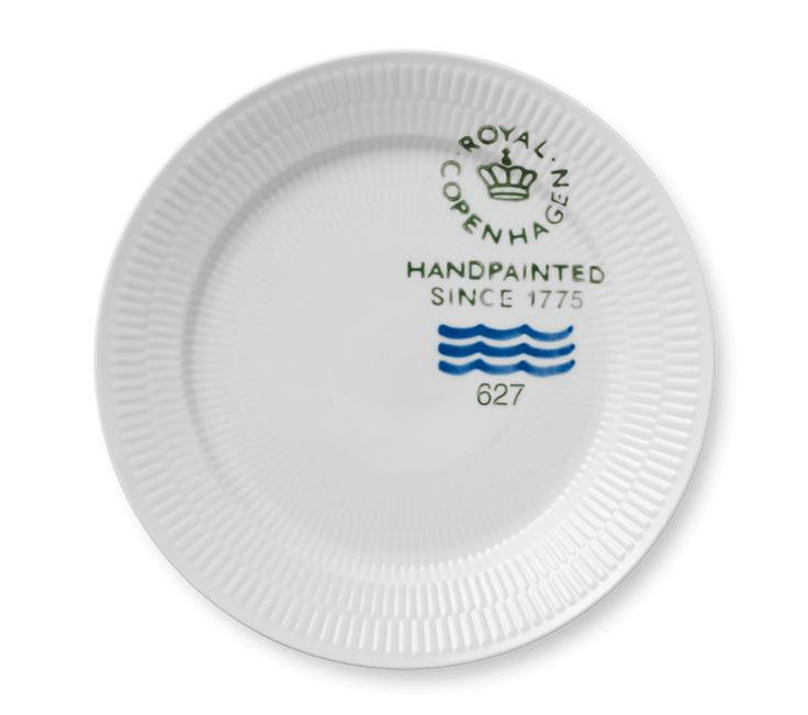 Fluted Signature Plate 27 cm