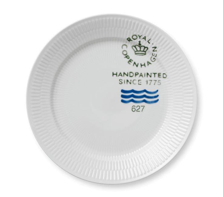 Fluted Signature Plate 27 cm