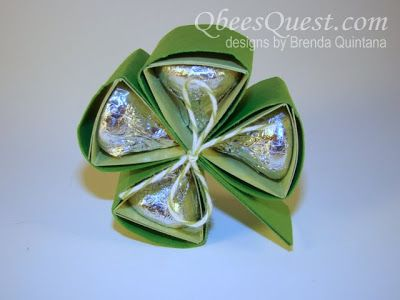Hershey Kiss Clovers-- We have found a new 4-H demo! :)