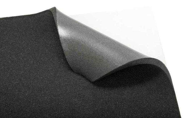 STP BIPLAST - Sound Absorber, Sound Insulator, Heat Insulator; Composition: formed bitumen saturated polyurethane foam - 5mm/10mm thickness; Suitable for: Doors, Roof, Plastic panels inside the passenger compartment; Packaging: STP BIPLAST 5 – 4 sheets * 0.75m * 1 m (3 m2), STP BIPLAST 10 – 3 sheets * 0.75m * 1 m (2.25 m2) #stpdistribution #standartplast #soundproofing #car #comfort #insulation