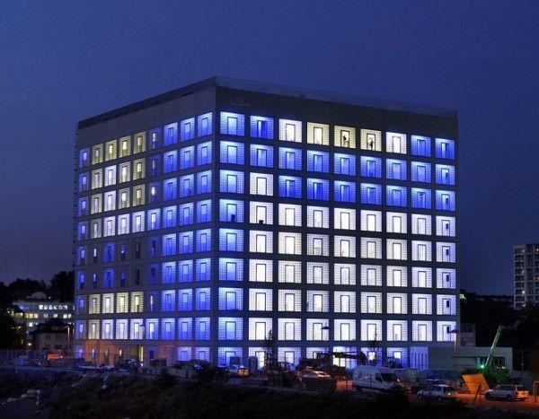 "Stuttgart City Library # 2 - ""South Korean-born architect Eun Young Yi designed the five-story atrium of the cube-shaped Stuttgart City Library"""