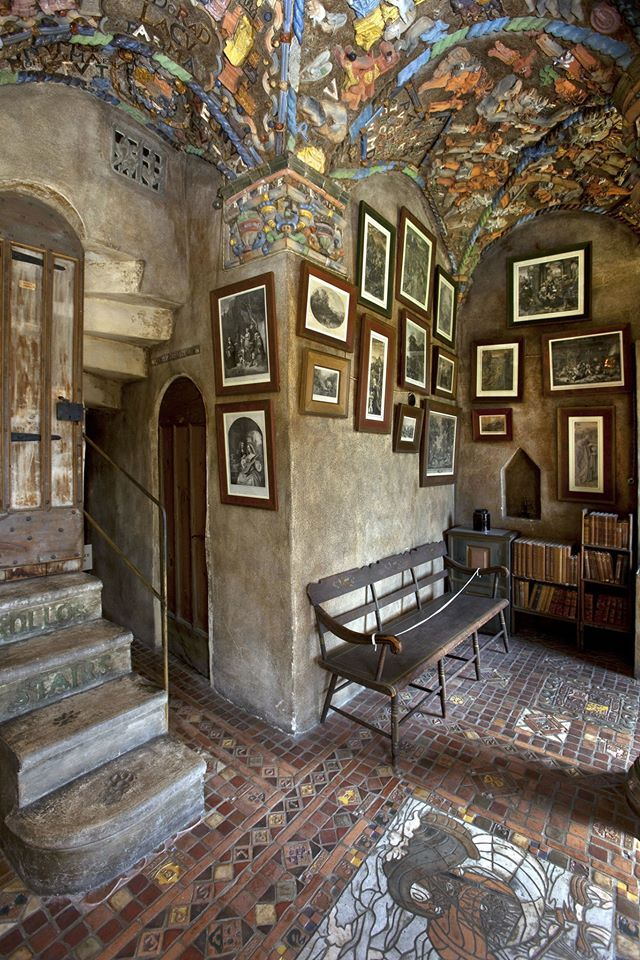 It holds the largest collection of its kind in the country— all inside a castle.
