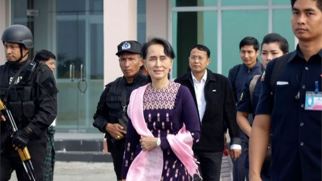 FOW 24 NEWS: Rohingya Crisis: Myanmar's Suu Kyi Visits Troubled...