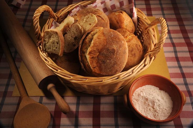 Home made bread by Aldente Trattoria Vineria  http://www.facebook.com/AldenteTrattoria