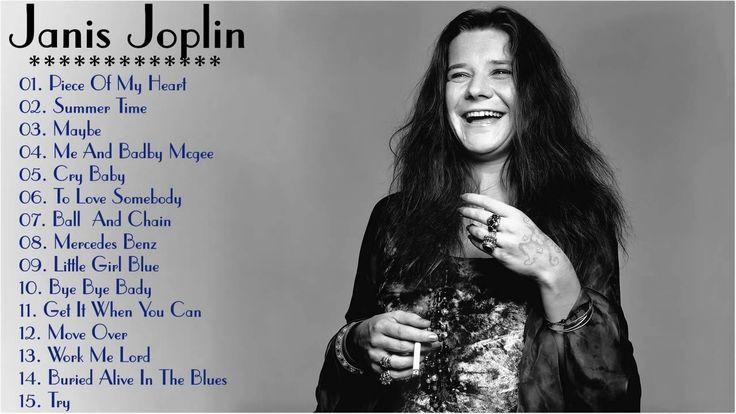 Janis Joplin Greatest Hits  The Best Janis Joplin Playlist!! (HD)
