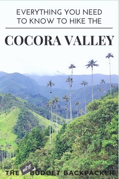 The Cocora Valley hike or (Valle De Cocora hike in Spanish) is one of the most popular things to do in Salento. For good reason! Here's everything you… // Cocora Valley Colombia / Valle de Cocora Colombia / Valle De Cocora Salento / Cocora Valley Salento / Cocora Valley Tour / Cocora Valley Palm trees / cocora colombia /