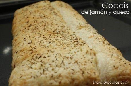 Auténtico cocois de jamón y queso Thermomix