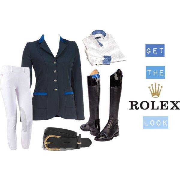 Znalezione obrazy dla zapytania Rolex equestrian fashion
