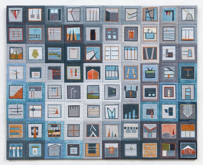 "Storyboard #11, 25"" x 20"", 2011, erinwilsonquilts"