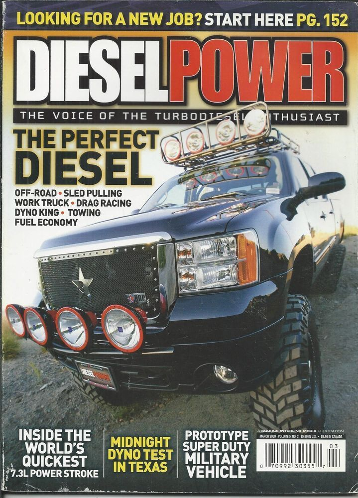 Diesel Power truck magazine Off road Sled pulling Drag racing Dyno Fuel economy