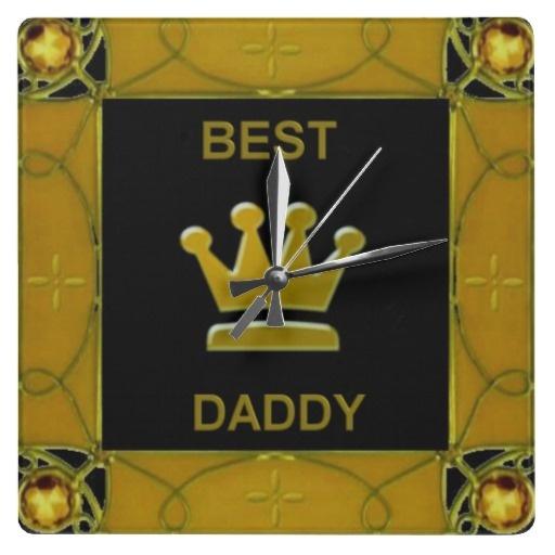Best Daddy Wall Clock by elenaind
