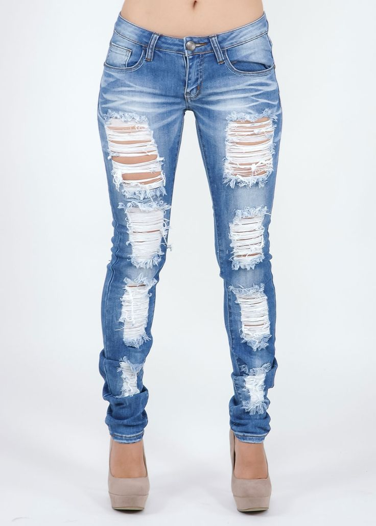 21 best images about Pants on Pinterest   Ripped jeans, Shredded ...
