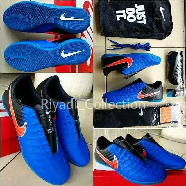 Nike Mercurial Futsal Shoes Grade Ori Sol Karet Ukuran 39