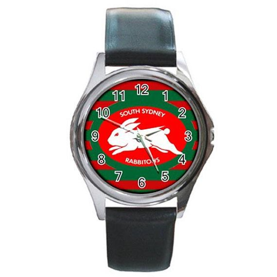 Rare Hot South Sydney Rabbitohs Round Watches by ributributbro