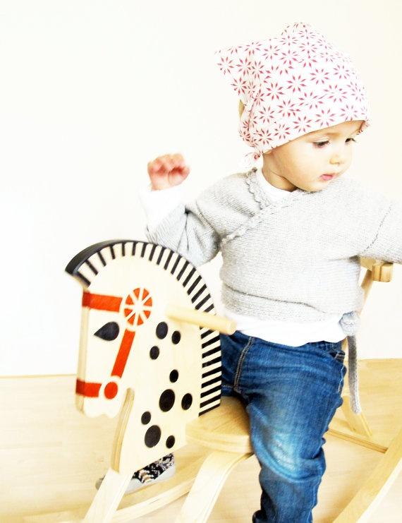 doudou 001, rasberry, hanky for babys & toddlers
