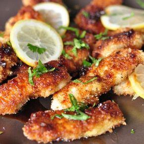 Poulet croustillant au citron et salade fenouil/courgette : 30 recettes estivales légères - Journal des Femmes