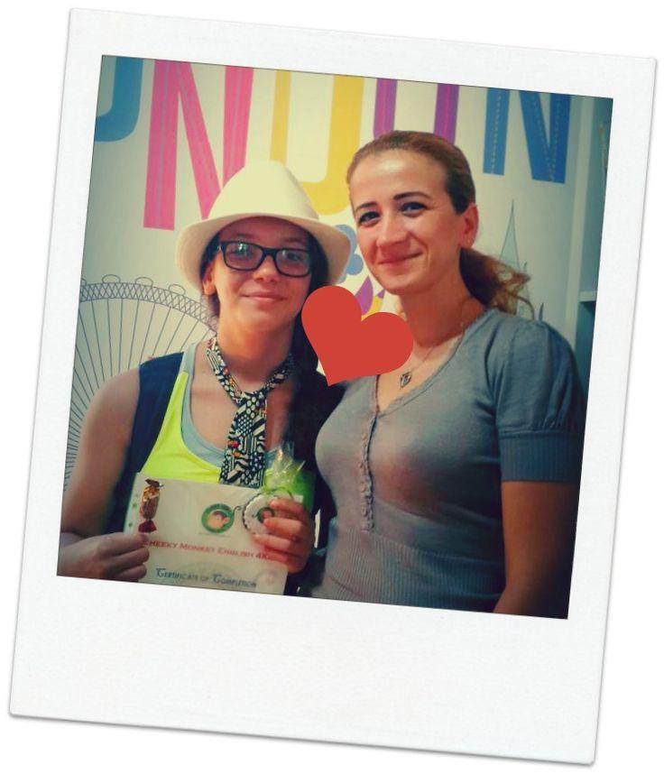 Mother & Daughter...#CME4K Sadece çocuklar (Okul Oncesi - Ilkokul - Ortaokul) için İngilizce dil kursu İzmir