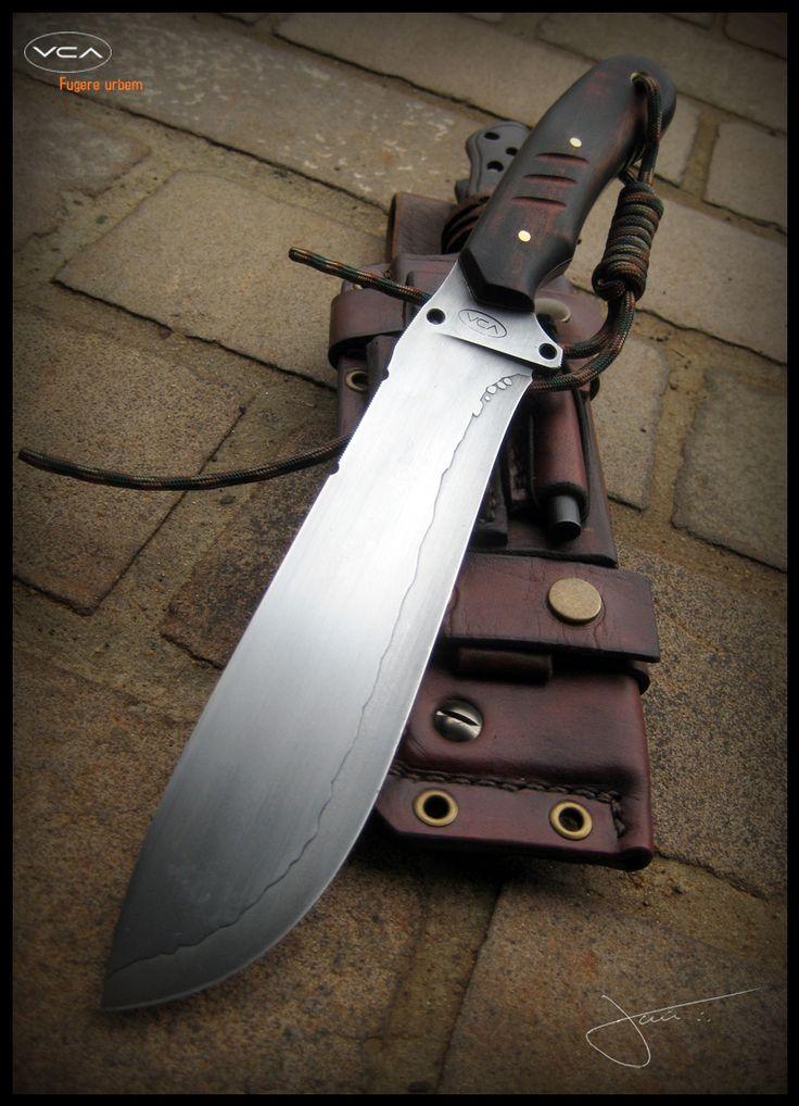 J. A. Voss – VCA Knives | Facas e bainhas artesanais