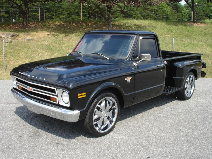 Chevy Short Bed Flareside Classic Cars Pinterest