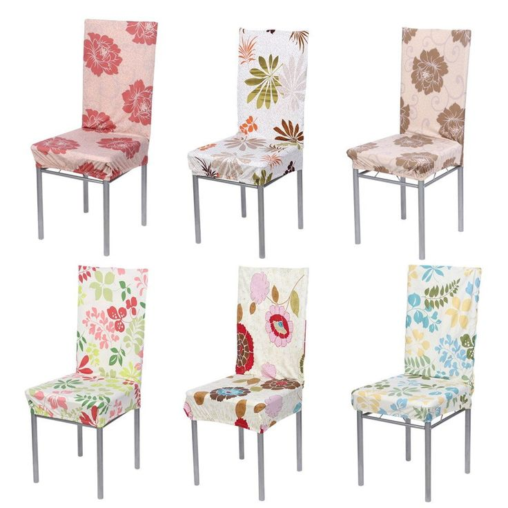 Polyester Spandex Dining Chair Covers For Wedding Party Chair Cover Dining  Chair Seat Covers Removable Stretch