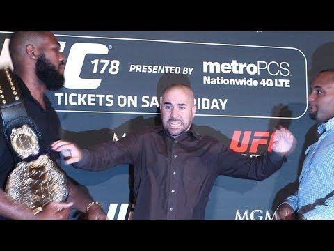 Jon Jones vs. Daniel Cormier Staredowns Through the Years - MMA Fighting