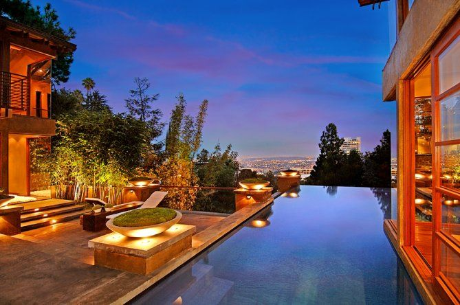 wow: Hollywood Hill, New Houses, Celebrity Houses, Outdoor Living, Swim Pools, Calvin Harry, Infinity Pools, Sierra Mars, Whippl Russell