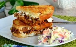 Spicy Pulled Pork Popper Sandwich Recipe