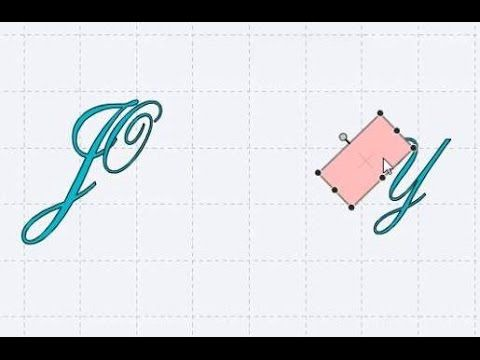 A quick tutorial on how to use the slice feature to edit fonts and letters in Cricut Design Space. The font I can be fund here: http://www.azfonts.net/famili...