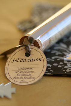 Sel et sucre aromatisés - pour un panier gourmand à Noël