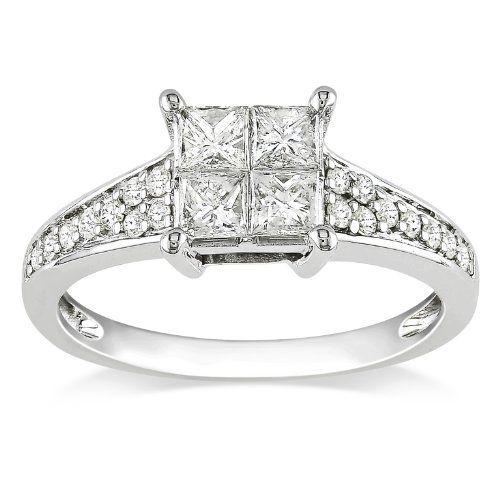 9mm Wedding Band 1 4 Ct Tw Black Diamonds Stainless Steel: Wedding & Engagement Rings