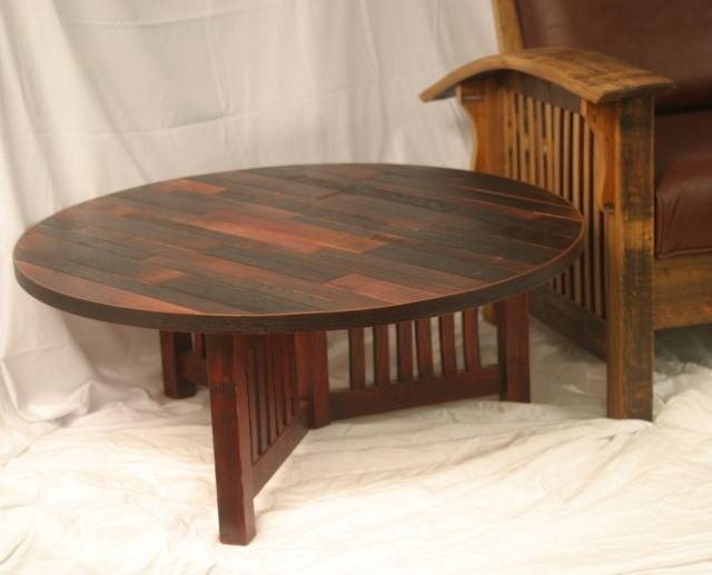 Wine Barrel Coffee Table New House Pinterest