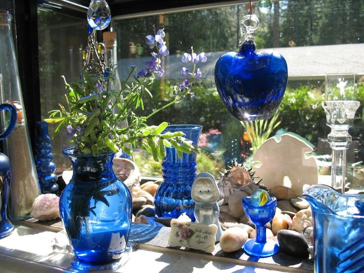 Love looking out my kitchen garden window Kitchen Loves