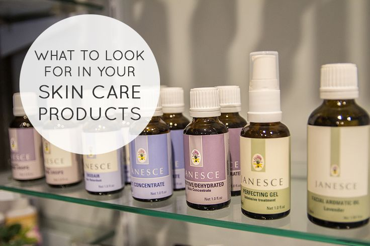 What to look for in your skin care products. How to choose skin care. What to look for in a moisturiser, cleanser or facial scrub! (And also what to avoid)