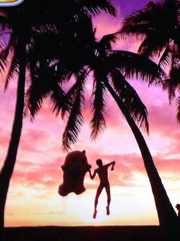 Funassyi in hawaii !!